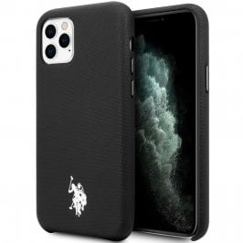 U.S. Polo Wrapped Polo Black Kryt iPhone 11 Pro