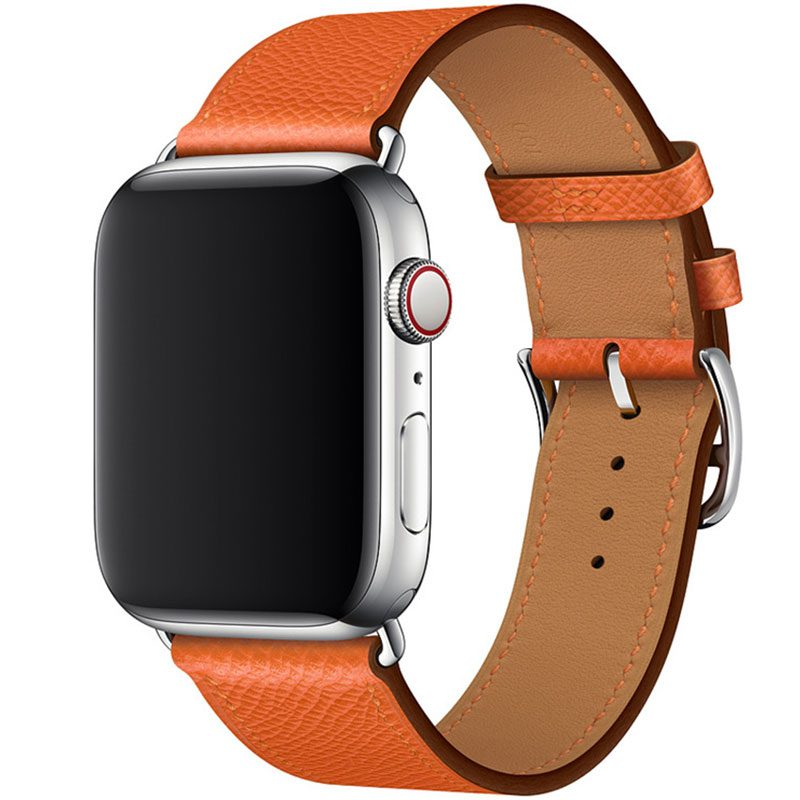 Koženkový Remienok Apple Watch 42/44mm Feu Epsom