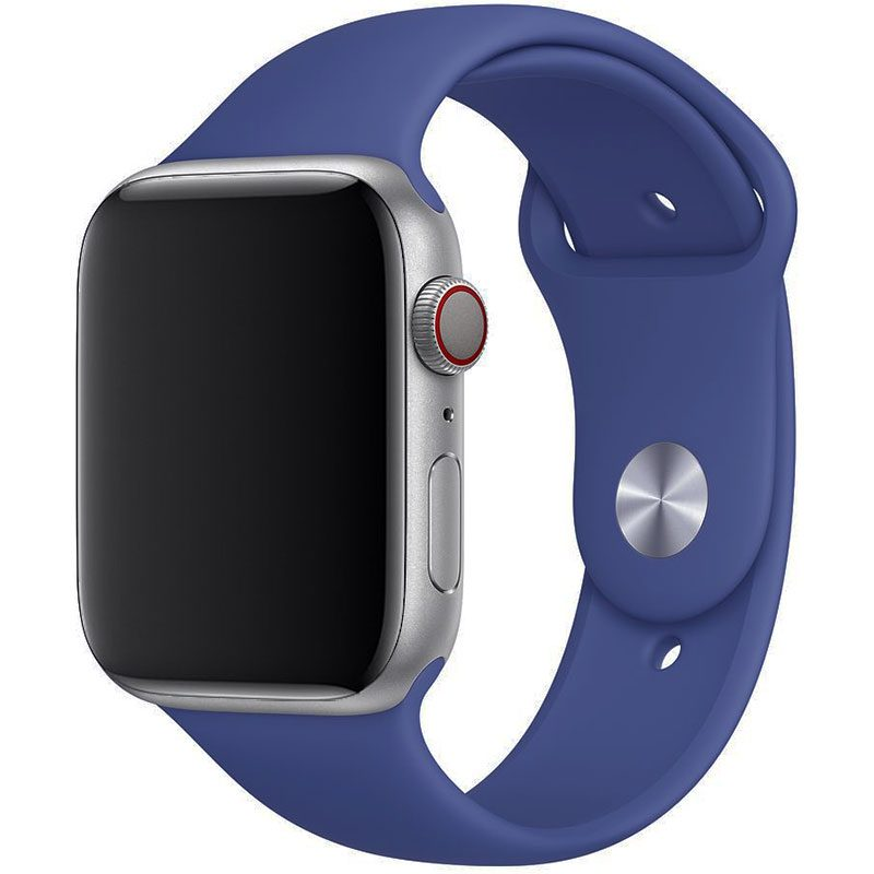 Silikónový Náramok Apple Watch 42/44mm Linen Blue Large