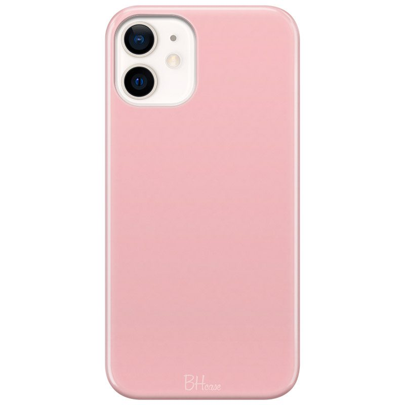 Charm Pink Color Kryt iPhone 12/12 Pro