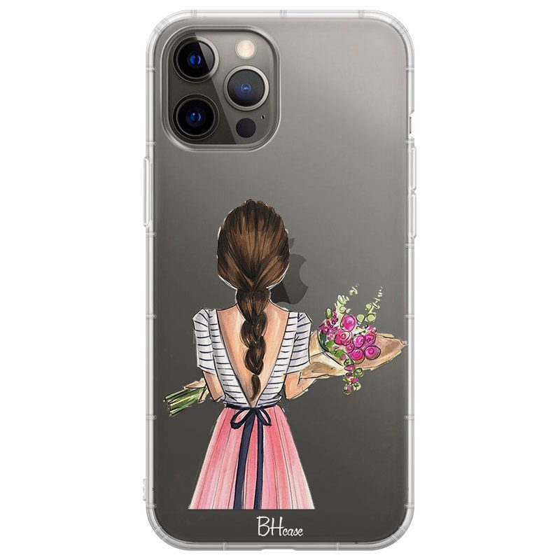 Floral Girl Kryt iPhone 12 Pro Max