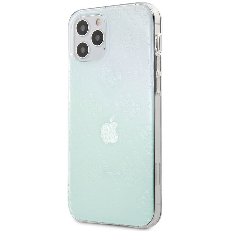 Guess 3D Raised Iridescent Kryt iPhone 12/12 Pro