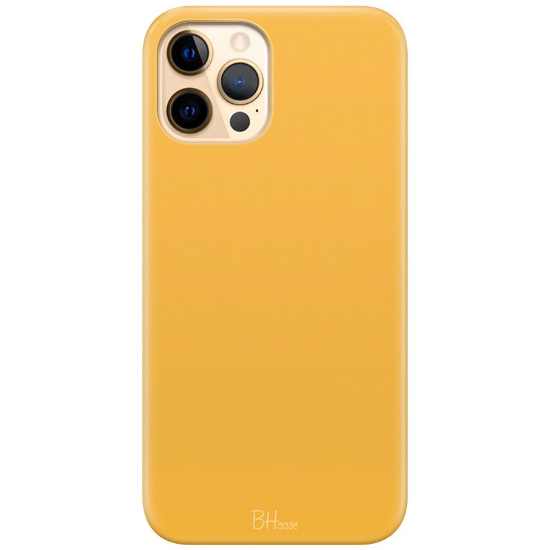 Honey Yellow Color Kryt iPhone 12 Pro Max