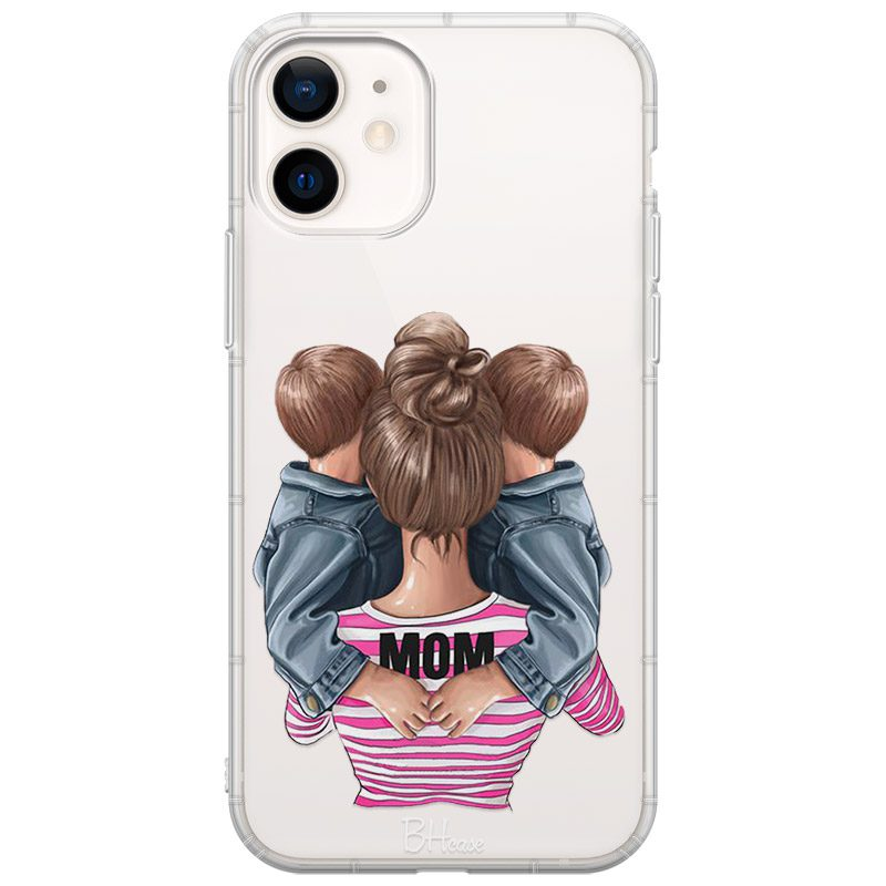 Mom Of Boy Twins Kryt iPhone 12 Mini