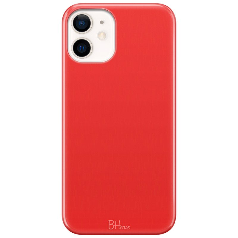 Red Apple Color Kryt iPhone 12 Mini