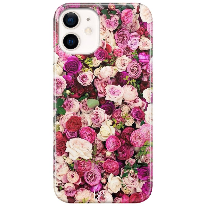 Roses Pink Kryt iPhone 12 Mini
