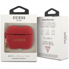 Guess AirPods Pro Silicone Case Red