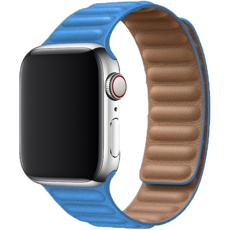 Koženkový Link Náramok Apple Watch 38/40mm Blue