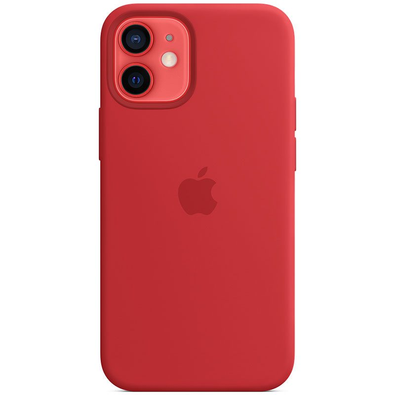 Apple Red Silicone MagSafe Kryt iPhone 12 Mini