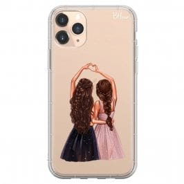 Besties Brown Hair Kryt iPhone 11 Pro Max