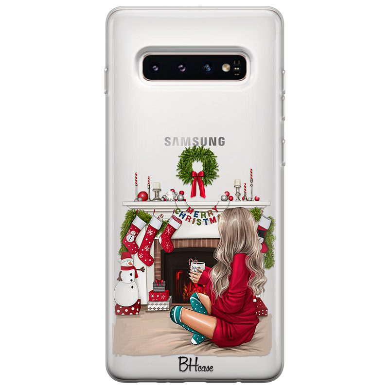 Christmas Day Blonde Kryt Samsung S10 Plus