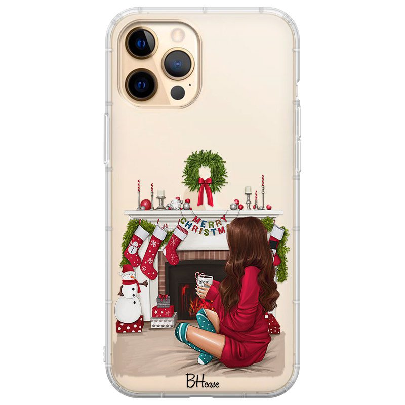Christmas Day Brown Hair Kryt iPhone 12 Pro Max