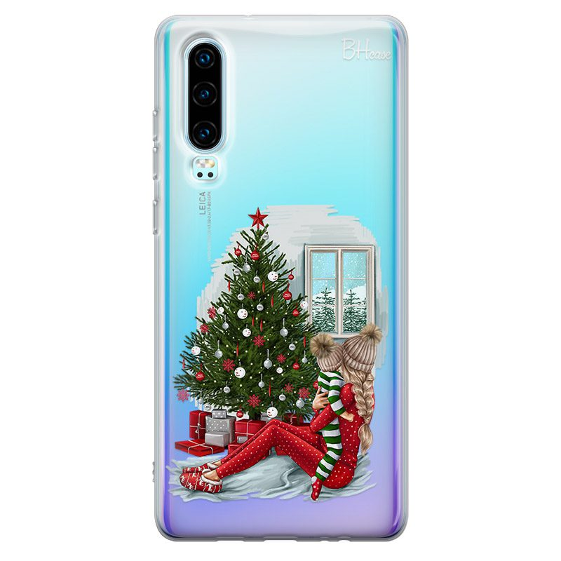 Christmas Mom Blonde Kryt Huawei P30