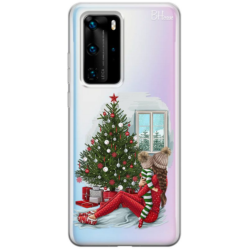 Christmas Mom Brown Hair Kryt Huawei P40 Pro