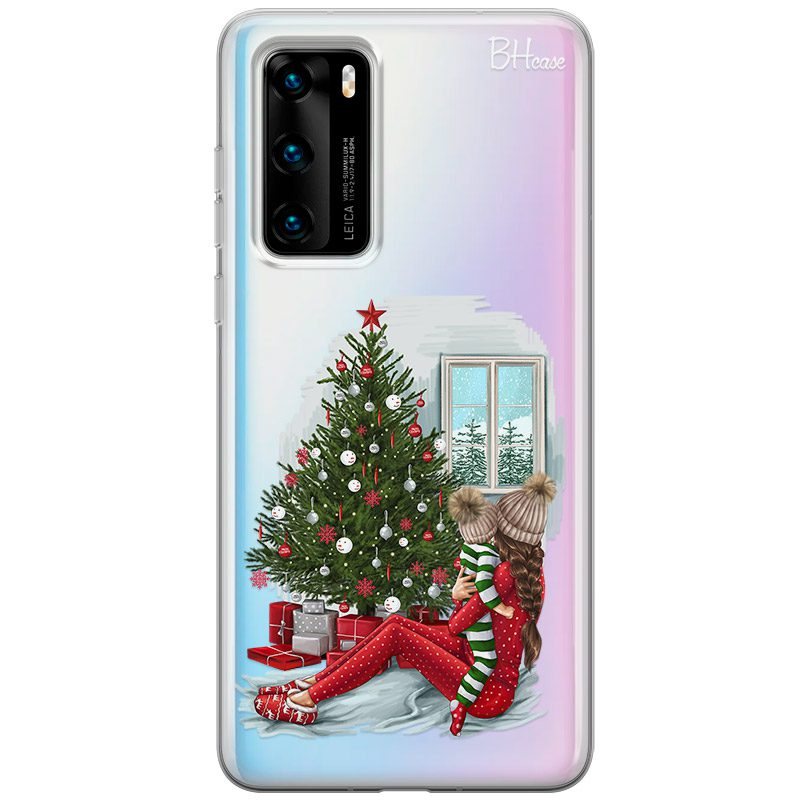 Christmas Mom Brown Hair Kryt Huawei P40