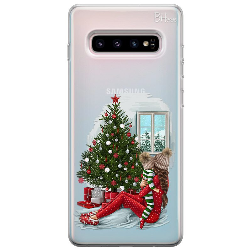 Christmas Mom Brown Hair Kryt Samsung S10