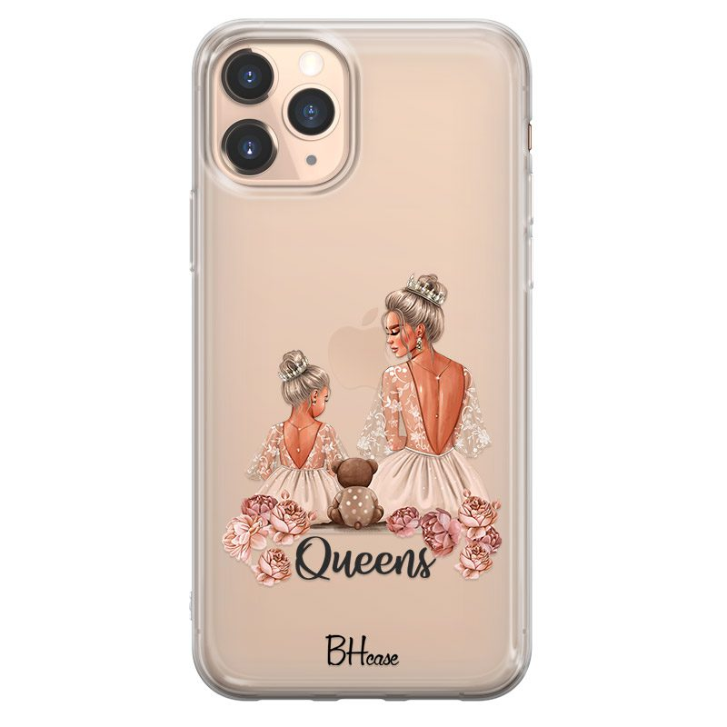 Queens Blonde Kryt iPhone 11 Pro Max