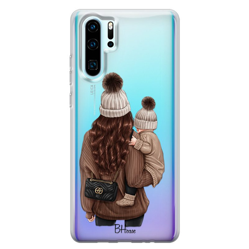 Warm Wishes Mom Brown Hair Kryt Huawei P30 Pro