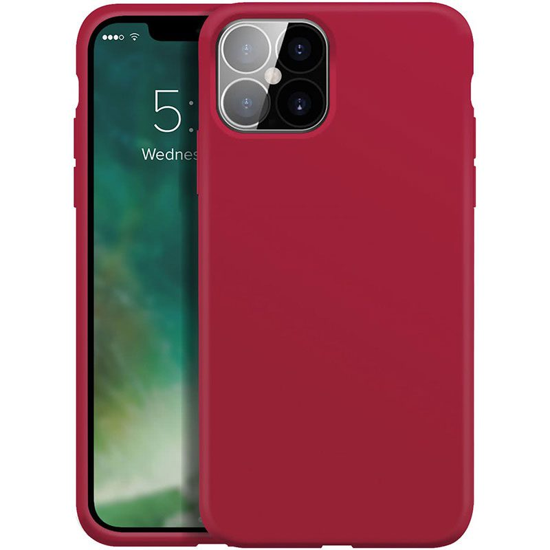 Xqisit Silicone Anti Bac Red Kryt iPhone 12 Pro Max