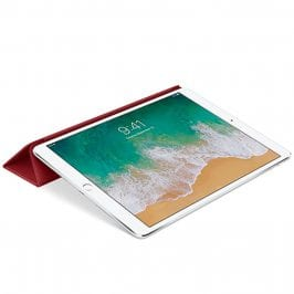 Apple Leather Smart Cover Red Kryt iPad 10.5