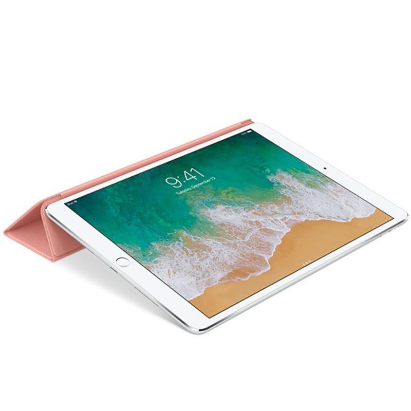 """Apple Leather Smart Cover Soft Pink Kryt iPad 10.5"""" Air/Pro"""