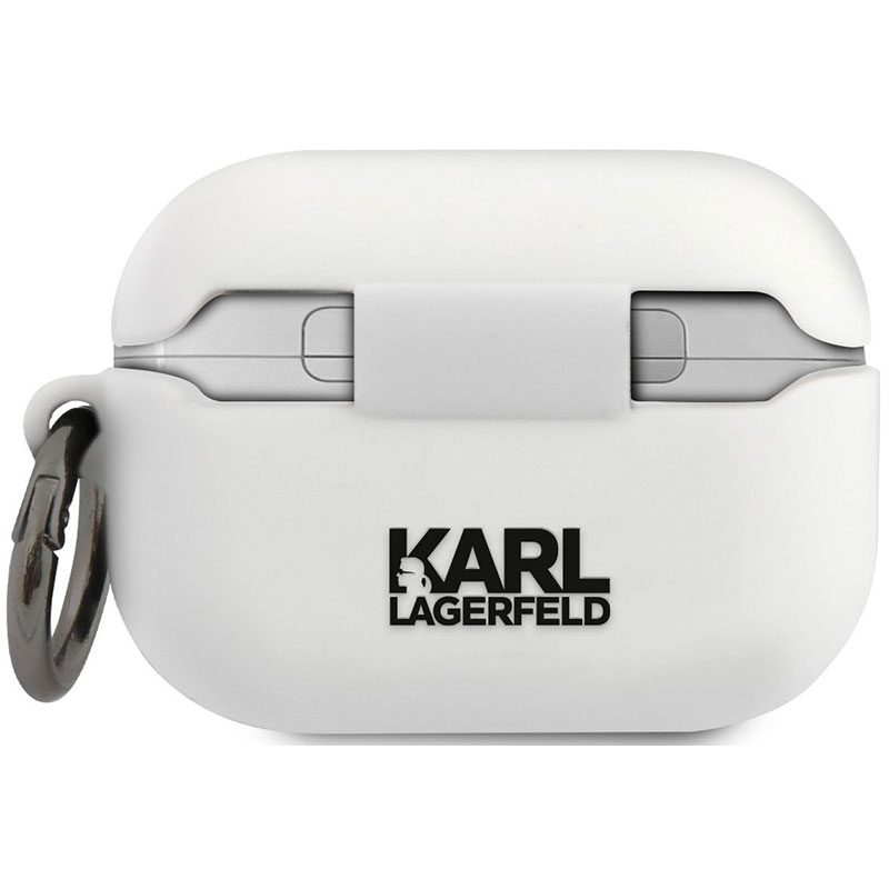 Karl Lagerfeld Head AirPods Pro Silicone Kryt White