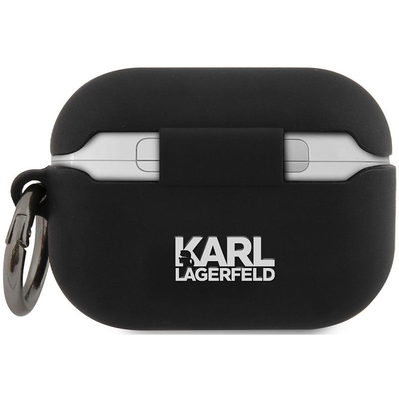 Karl Lagerfeld Rue St Guillaume AirPods Pro Silicone Kryt Black