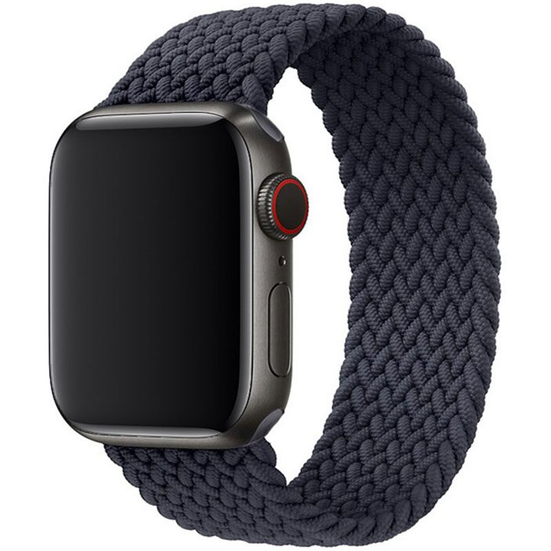 Braided Náramok Apple Watch 38/40mm Charcoal Black