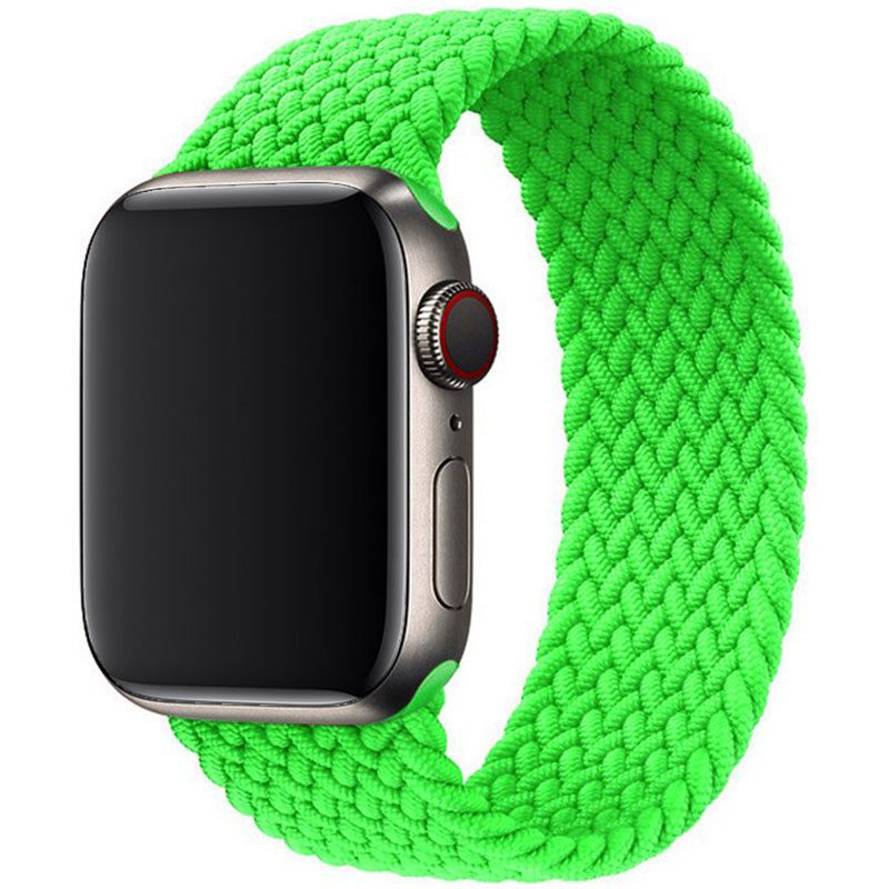 Braided Náramok Apple Watch 38/40mm Flash Green