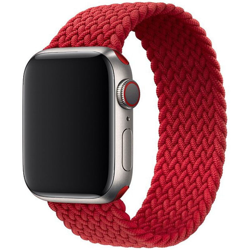 Braided Náramok Apple Watch 38/40mm Red