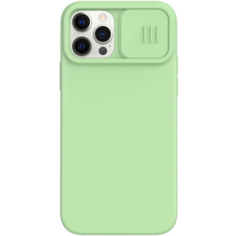 Nillkin CamShield Silky Magnetic Silicone Matcha Green Kryt iPhone 12/12 Pro