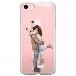 All I Want For Christmas Brown Hair Kryt iPhone 8/7/SE 2 2020