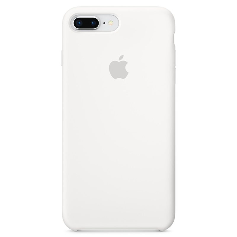 Apple White Silicone Kryt iPhone 7 Plus/8 Plus