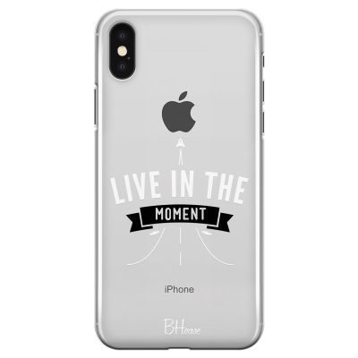 Live In The Moment Kryt iPhone X/XS