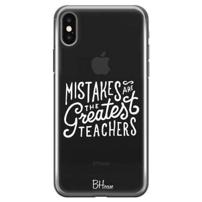 Mistakes Kryt iPhone XS Max