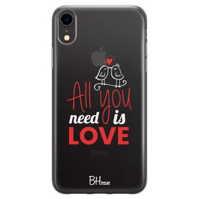 All You Need Is Love Kryt iPhone XR