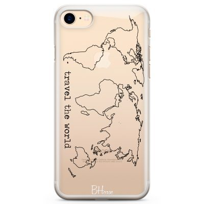 Travel The World Kryt iPhone 8/7/SE 2 2020