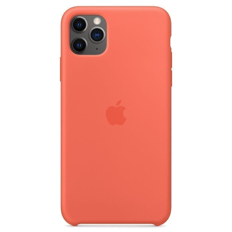 Apple Clementine Orange Silicone Kryt iPhone 11 Pro Max