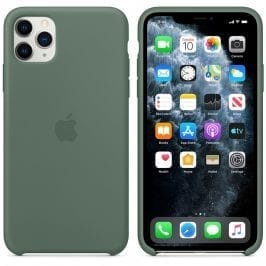 Apple Pine Green Silicone Kryt iPhone 11 Pro