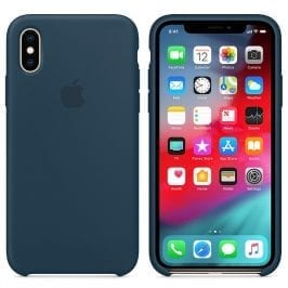 Apple Pacific Green Silicone Kryt iPhone XS