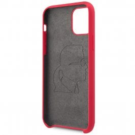 Karl Lagerfeld Iconic Full Body Silicone Red Kryt iPhone 11 Pro