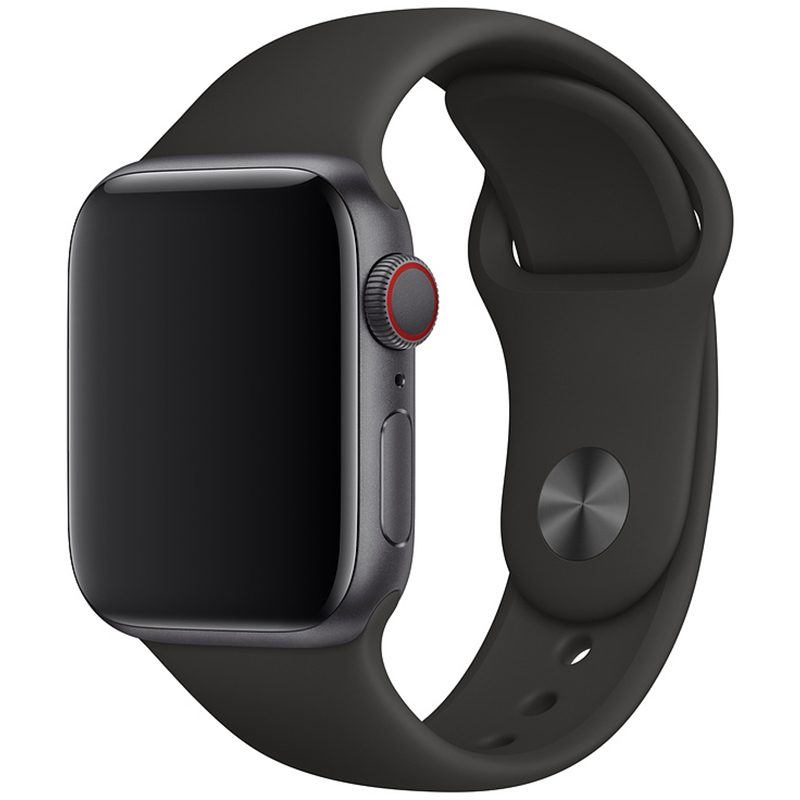 Silikonový Náramek Apple Watch 42/44mm Black Large