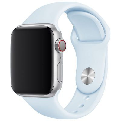 Silikonový Náramek Apple Watch 42/44mm Fog Blue Large