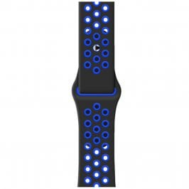 Sport Náramek Apple Watch 42/44mm Black/Blue Large