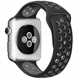 Sport Náramek Apple Watch 42/44mm Black/Gray Small