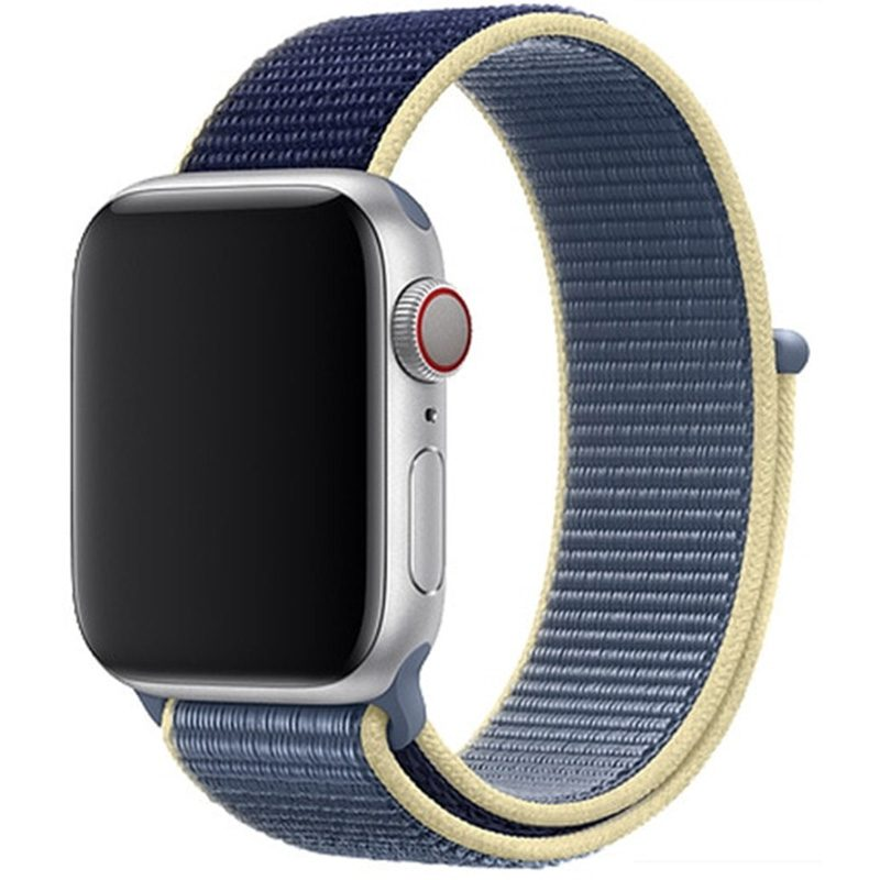 Nylonový Náramek Apple Watch 42/44mm Alaskan Blue