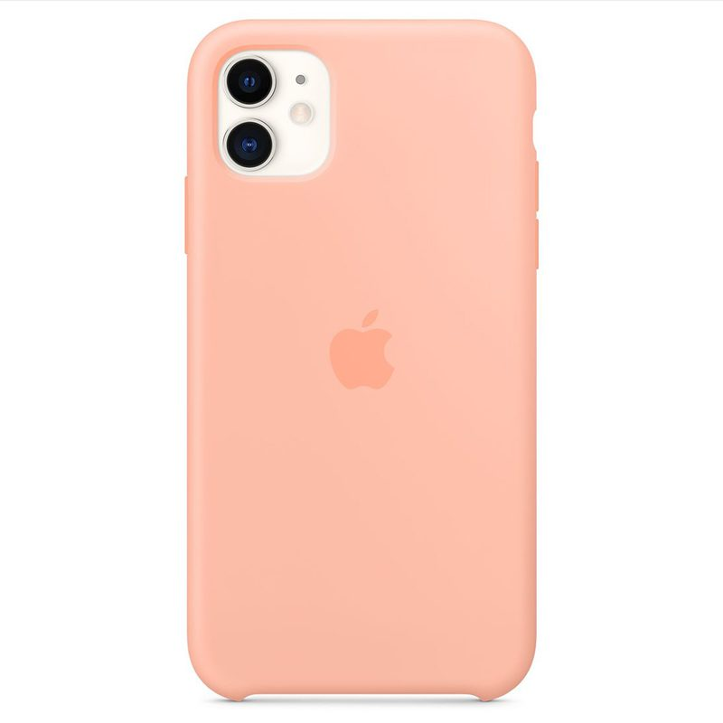 Apple Grapefruit Silicone Kryt iPhone 11