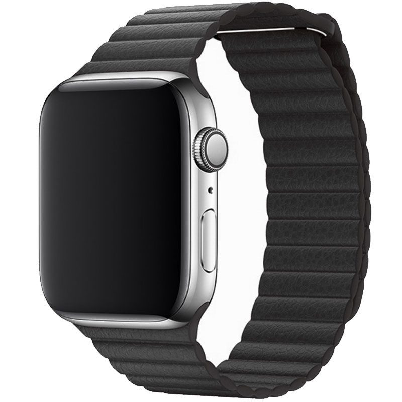 Leather Loop Náramek Apple Watch 42/44mm Dark Grey