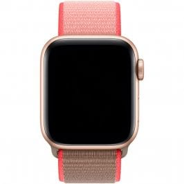 Nylonový Náramek Apple Watch 38/40mm Neon Pink