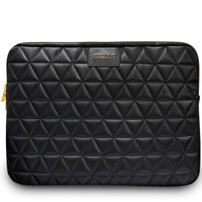 """Guess Quilted Kryt Notebook 13"""" Black"""